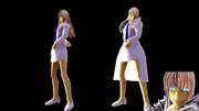 【MMD-OMF6】ココヘクマティアル っぽいモデル
