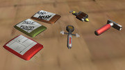 【MMDモデル配布】Fallout AIDセット【OMF6】
