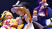 【東方MMDクロスオーバー祭】魔法つかい達の夜