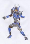 オリジナル/仮面ライダーアディス/カイゾウ・シュバリエスシオー