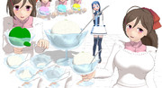 【MMD艦これ 】間宮アイス1.00【モデル配布】