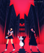 【ステージ配布】絶対絶望少女風ステージ【ダンガンロンパMMD】