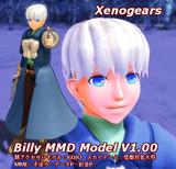 【MMD-OMF6】ビリーっぽいモデル【ゼノMMD】