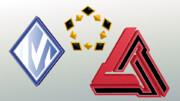 【MMD-OMF6】AC3企業ロゴマークセット