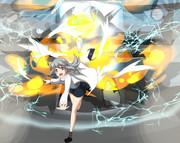 突然の爆発!!