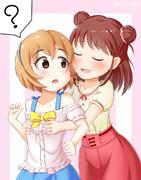 小春ちゃんと愛海ちゃん