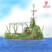 海上輸送型MS「毬玉丸」