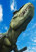 青空とティラノサウルス
