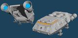 【MMD】宇宙空母の艦載艇の作りかけ