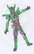 オリジナル/仮面ライダークインド/カイゾウ・サイキョウフィンガー