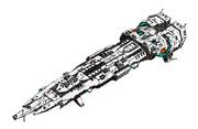 巨大戦艦ハンニバル