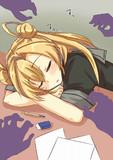 阿武隈さん!そんなところで寝たらマズイですよ!