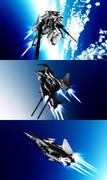 【MMD】可変ヒト型戦闘機 Vector Diver【オリメカ】