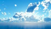 【MMDステージ配布】低い雲の午後 UU3【スカイドーム】