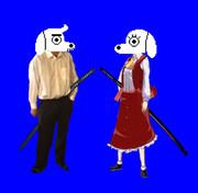 Dogamyおじさん&Dogaressaおばさん