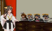 【MagicaVoxel】金剛型四姉妹