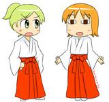 巫女フェっちゃんとウェボシー
