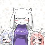 トリエルマッマと琴葉姉妹