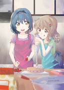 2人でお菓子作り