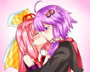ゆかりと茜のキスの日