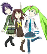 大好きなキャラクター三人