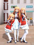 三姉妹のレア様