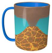 火山のマグカップ