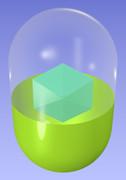 六角形入りカプセル