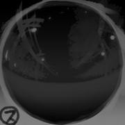 環境光・夜間・市街地風スフィアマップ