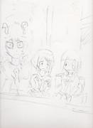 【ヒーロアカデミア08】窓際にたたずむ女子会(ヒロインたち)