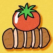 トマトンカツ (トマトとトンカツ)