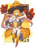 黄色の魔女
