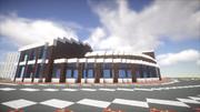 【Minecraft】近未来的な図書館