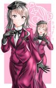 【ガルパン】千代さんとおそろい愛里寿ちゃん