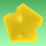 五角形のチーズ