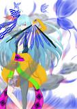 青き曇天の葵