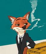 ニックにタバコくわえさせ隊