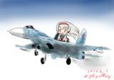 翔鶴とSu-27«Журавлик「ジュラーヴリク」»