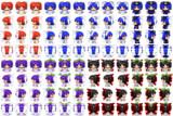 ひまわり妖精2 RPGツクールMV用歩行グラフィック