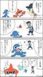 4コマ ロトム図鑑【ポケモンSM】