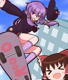 スケーターなゆかりん