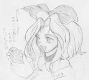 アイリスと小鳥さん