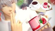 いちごプリンとコーヒー【MMDアクセサリ配布】