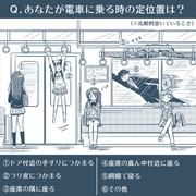 あなたが電車に乗る時の定位置は?