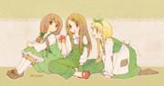 緑の女子会