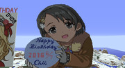 【Minecraft】佐々木千枝ちゃんお誕生日おめでとう【ドット絵】