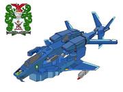 VFH-12 スーパーオーロラン 宇宙機甲隊・海兵分団 塗装