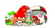 輝子とキノコポケモン