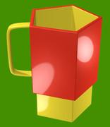 五角形のマグカップ