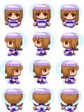 妖精メイドC RPGツクールMV用歩行グラフィック